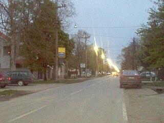 Boljevci Suburban settlement in Serbia
