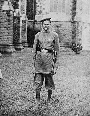 Mumbai Police - A Mumbai Policeman during the 19th century