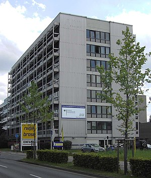 Federal Office for Information Security - Building in Bonn, Germany