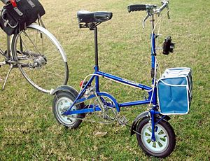 Bootie (bicycle) - Comparison of Bootie with conventional bike
