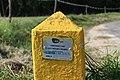 Borne 14 Indication Canalisation Gaz Chemin Romagne St Cyr Menthon 4.jpg