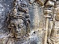 Borobudur - Divyavadana - 077 N, Rudrayana after his Ordination (detail 3) (11706416274).jpg