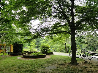 University of Freiburg Faculty of Biology - Outdoor area of the botanical garden
