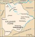 Botswana kaart.png