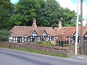 Emery Down - Boultbee Cottages, former almshouses