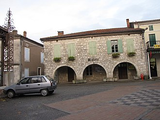 Bourg-de-Visa - Bourg-de-Visa village hall