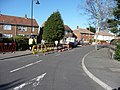 Bournemouth , Gort Road and Roadworks - geograph.org.uk - 1746341.jpg