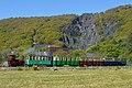 Boy races train! Llanberis Lake Railway (8989938954).jpg