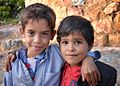 Boys in Mahweet, Yemen (16041529768).jpg