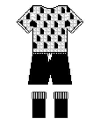 Clube Atlético Bragantino - 1989–1991 Bragantino's home kit
