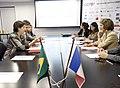 Brasil-França Ministras da área social dos países debatem políticas de combate à pobreza (19735893938).jpg