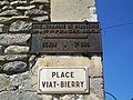 Brasseuse (60), place Viat-Bierry, vieux panneau.jpg