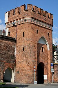 Bridge Gate, Torun