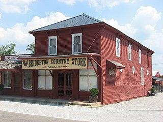 Bridgeton, Indiana Unincorporated community in Indiana, United States
