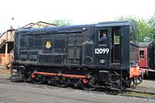Bridgnorth - 12099 in the yard.JPG