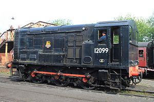 British Rail Class 11 - 12099 preserved on the Severn Valley Railway
