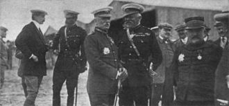 James Grierson - Grierson at Rheims in 1909 (shown in the centre with hands behind back)