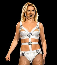 Britney Spears swimsuit naked X-Factor