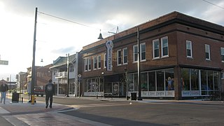 Broadway–Middle Commercial Historic District building in Missouri, United States