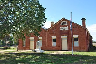Brocklesby, New South Wales - Brocklesby School of Arts, 1907