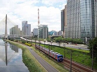 Companhia Paulista de Trens Metropolitanos - Image: Brooklin ¹²