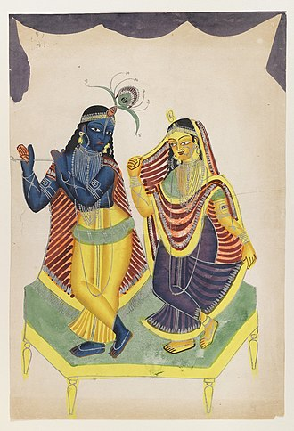 Mother India - Image: Brooklyn Museum Krishna and Radha 2