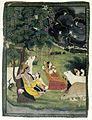 Brooklyn Museum - Krishna and Radha under a Tree in a Storm.jpg