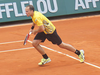 Bruno Soares - Soares at the French Open 2013