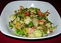 Brussels Sprouts, Red Onions and Apples (8402619457).jpg