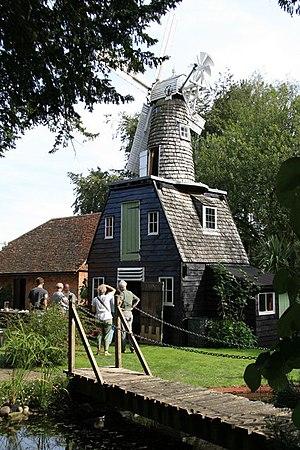 Buckland, Surrey - Image: Buckland mill