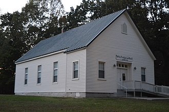 National Register of Historic Places listings in Prince Edward County, Virginia - Image: Buffalo PCUSA, Prince Edward County