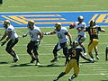 Buffaloes on offense at Colorado at Cal 2010-09-11 8.JPG