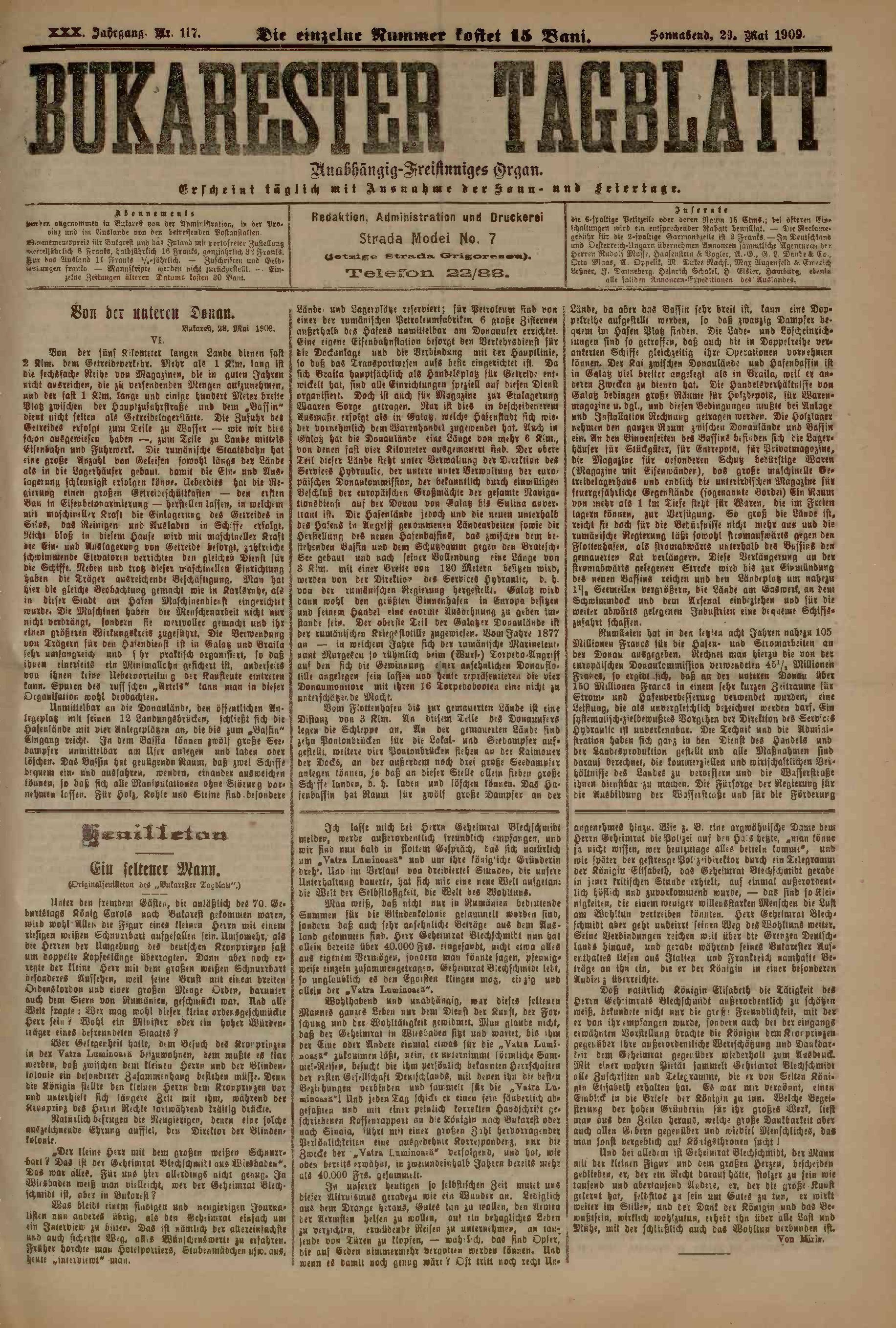 File:Bukarester Tagblatt 1909-05-29, nr  117 pdf - Wikimedia Commons