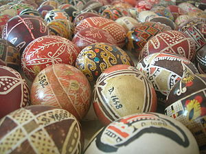 Folklore of Romania - Image: Bukovina eggs