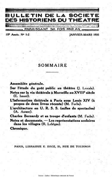 File:Bulletin de la société des historiens du théâtre, année 3, n°1-2.djvu