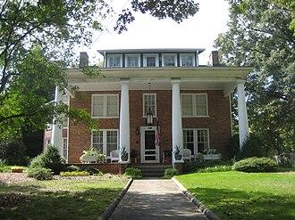 Bumpas-Troy House - Bumpas-Troy House, September 2012