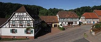 Bundenthal - Main street in Bundenthal