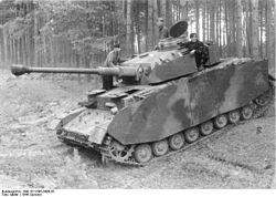 Panzer IV Ausf. H. Junio de 1944.
