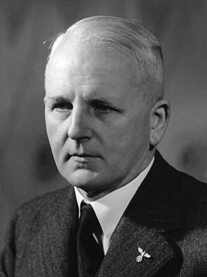 Joachim von Ribbentrop - Baron Ernst von Weizsäcker, the Secretary of State at the German Foreign Office, 1938–1943