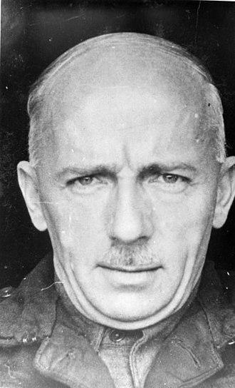 Walter Dornberger - Portrait of Major General Dr. Walter Dornberger taken during captivity, 1945