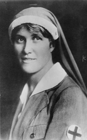 Elsa Brändström - Elsa Brändström in 1929