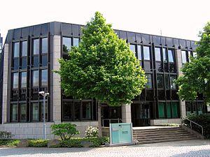 Bundeseisenbahnvermögen - Central offices, Kurt-Georg-Kiesinger-Allee, Bonn.