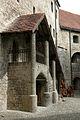 Burghausen Castle Kemenate Aufgang.jpg