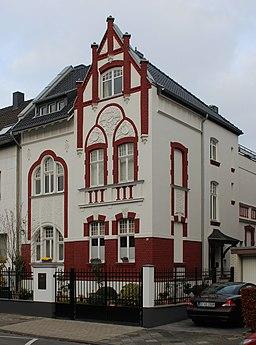 Burgmüllerstraße in Düsseldorf