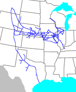 Chicago, Burlington and Quincy Railroad American railroad from 1855 to 1970