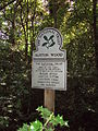 Burton Wood sign, Mill Lane.JPG