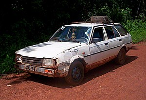 Share taxi - A Toyota Corolla estate bush taxi