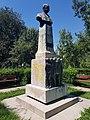 Bustul lui Nicolae Filipescu, vedere în lateral, Focșani.jpg