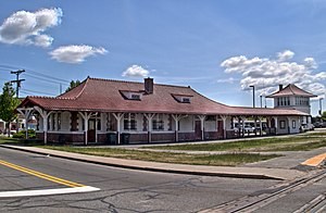 Buzzards Bay station - Buzzards Bay station in May 2013