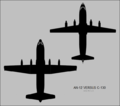 C-130 and An-12 silhouette comparison.png